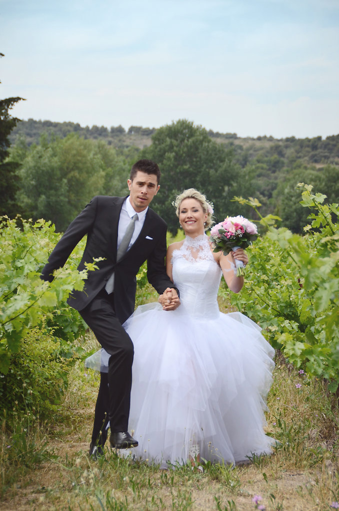 PINK WEDDING • Lucile et Yohann