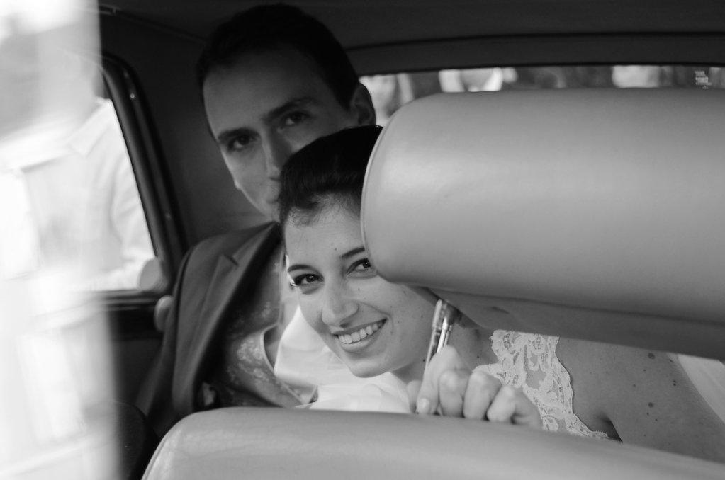 Chic Black&White wedding • Luisa et Attico