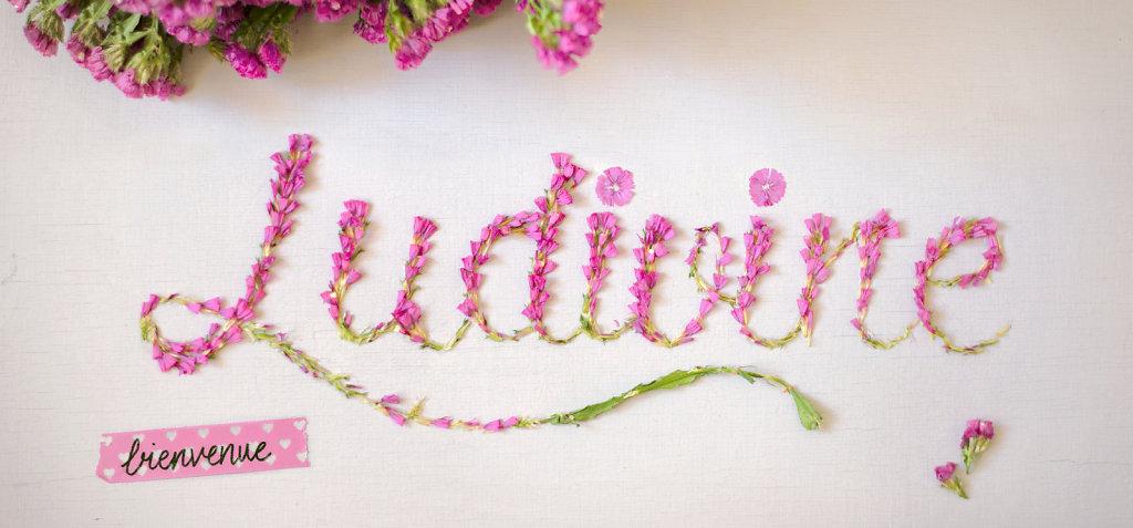 Faire part fleuri • Petite Ludivine